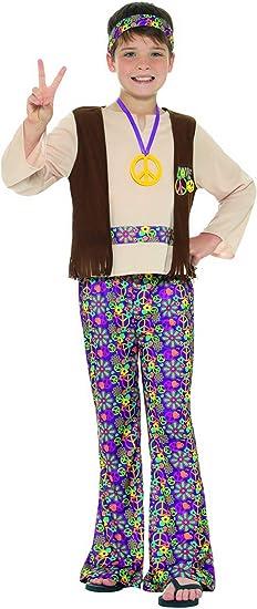 Fancy Ole – Disfraz de Hippie para niños de los años Setenta con ...