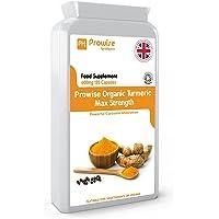 Curcumina curcuma 600mg, 120 capsule (fornitura per 4 mesi) | Pepe nero | Certificato di associazione al suolo | Prodotti di alta qualità | Adatto per vegetariani e vegani | Made in UK