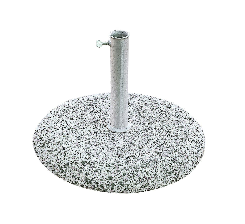 Made in Italy. Maffei Art 302/Base graniglia para ombrelloni con Tubo 45/mm Peso Kg 25