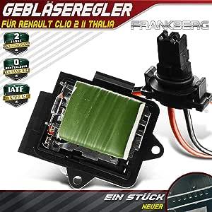 Resistencia de motor del ventilador para Clio II BB0/1/2 CB0/1/2 ...