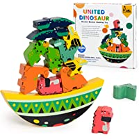 Wooden Blocks Animal Forest Stacker Puzzle for Toddlers True Balance Coordination Activities Toys with Gift Box Suitable…