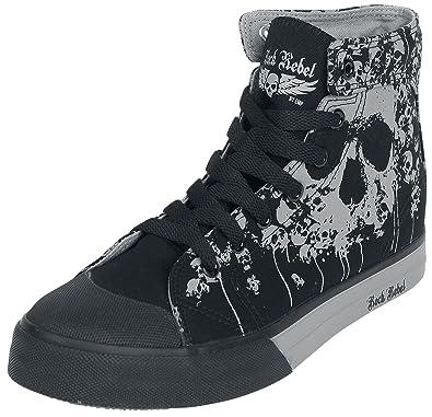Rock Rebel by EMP - Walk The Line - Sneaker - schwarz MBb0UN
