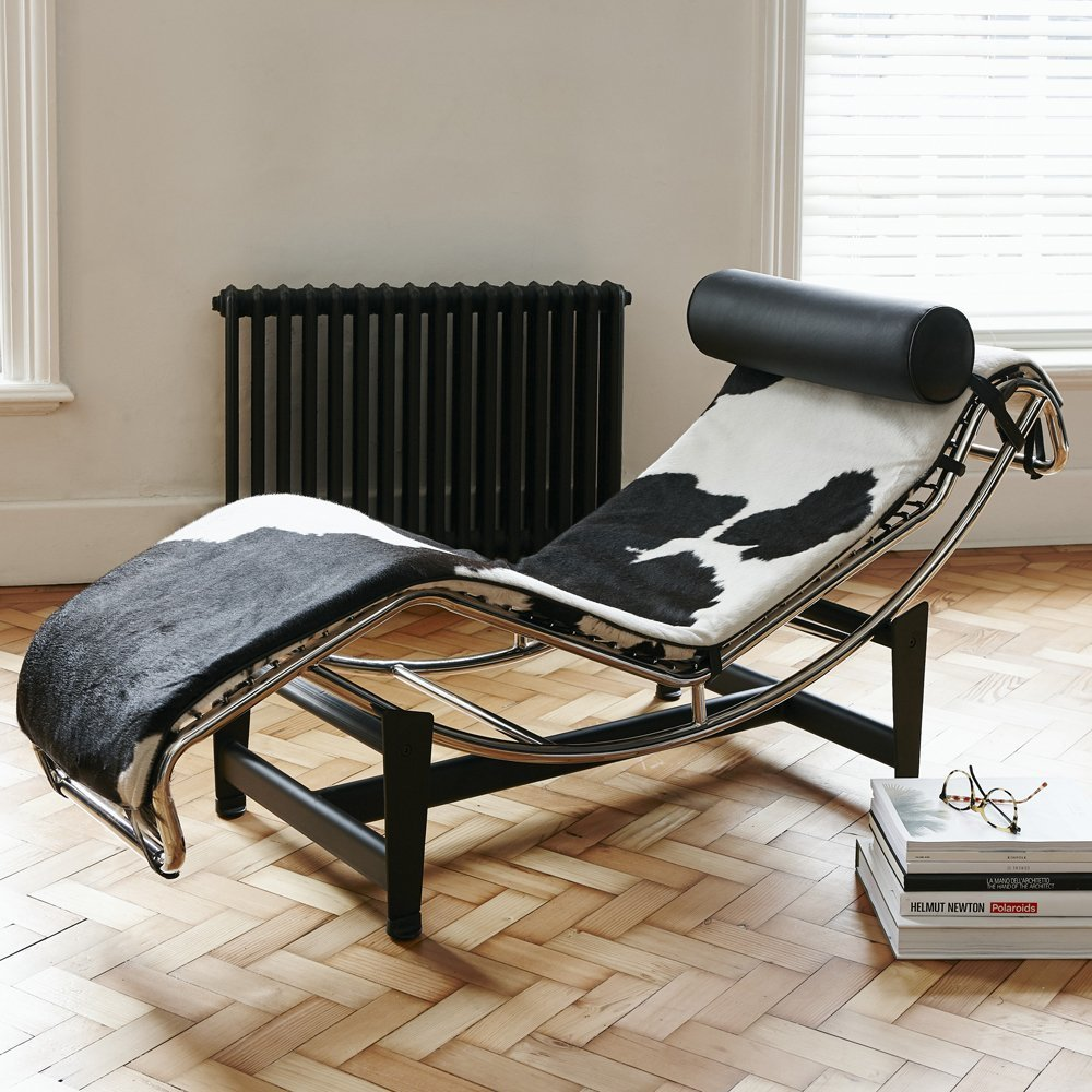 Designer Furniture UK Le Corbusier LC4 Estilo Vaca Chaise ...
