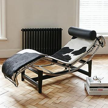 Le Furniture Chaise Longue Cuir Style De Lc4 Uk Designer Corbusier wP80Onk