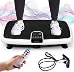 INTEY Vibration Plate Exercise Machine, 6 in 1 Multifunction Vibration Fitness