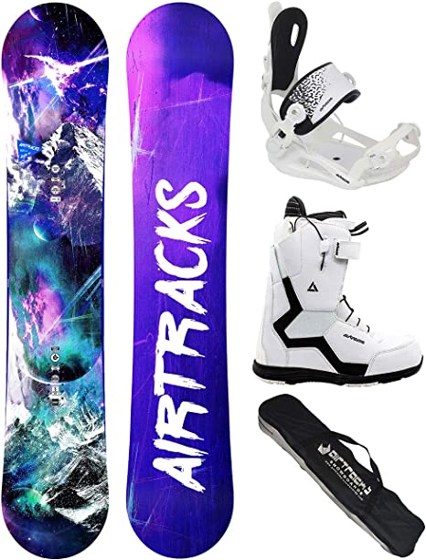 System 2020 MTNW Snowboard with Mystic Bindings Womens Snowboard Package