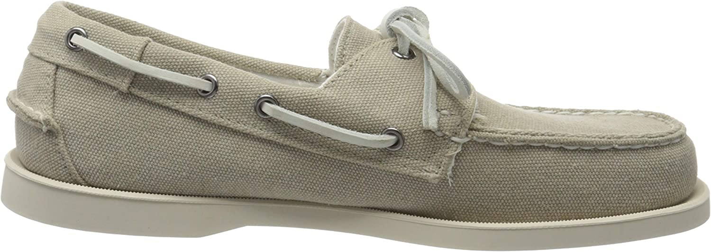 Sebago Portland Zen Canvas, Chaussures Bateau Homme Beige Lt Beige 919