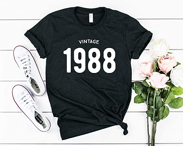 Amazon 31st Birthday Shirt 1988 Vintage Handmade