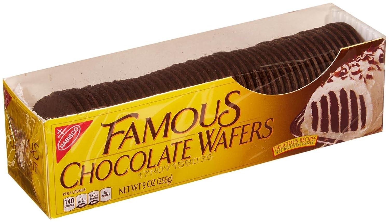 Nabisco Famous Chocolate Wafers - 9 oz: Amazon.com: Grocery ...