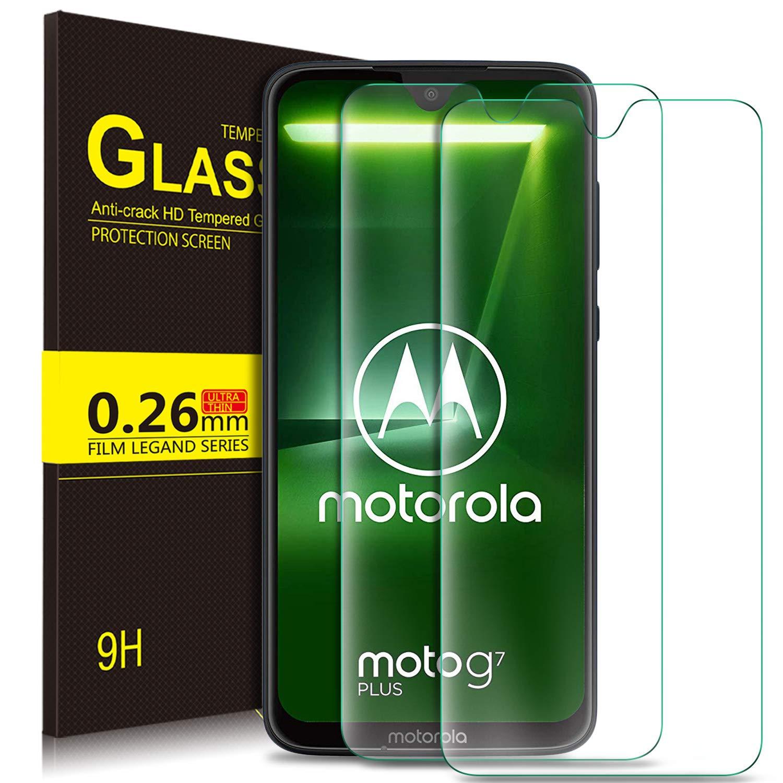 KuGi. Moto G7 Plus Pellicola, Moto G7 Plus Pellicola Protettiva [Anti-Riflesso & Anti-Bolla] [Durezza 9H] Applicare Adatto per Moto G7 Plus Smart Phone (2 Pezzi)