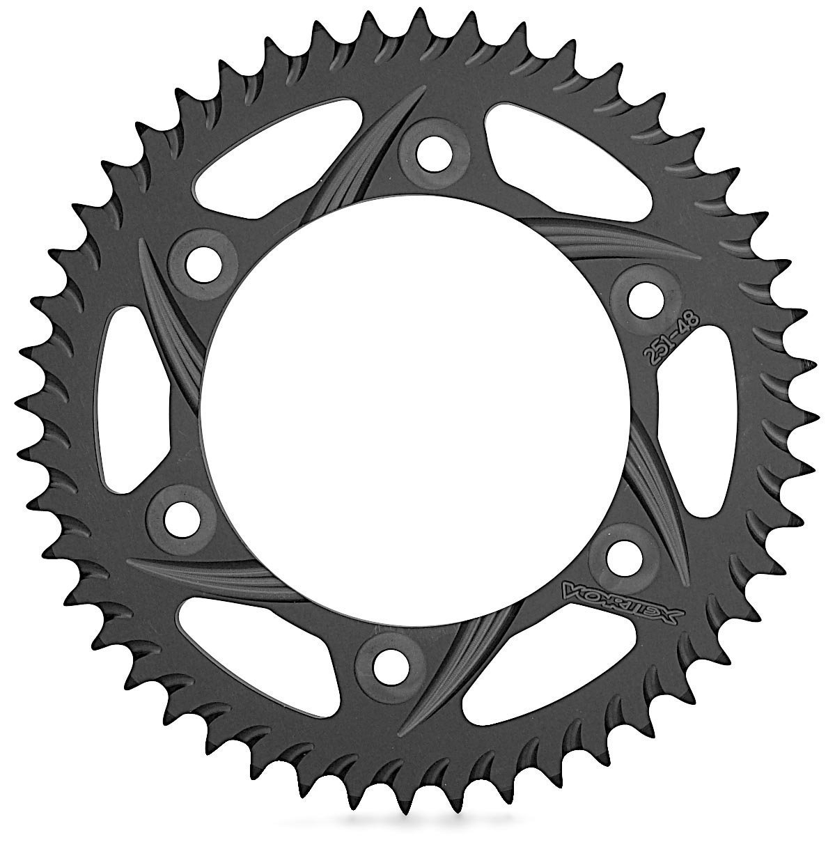 Vortex 232K-48 Solid Black 48-Tooth Rear Sprocket