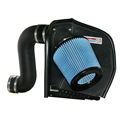 aFe Power Magnum FORCE 54-10412 Dodge Diesel Trucks 03-07 L6-5.9L (td) Performance Intake System (Oiled, 5-Layer Filter): Automotive