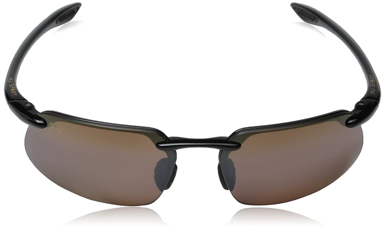 75565ef6e3 Brand Authentic Polarized Maui Jim Kanaha Sunglasses Black Frame ...