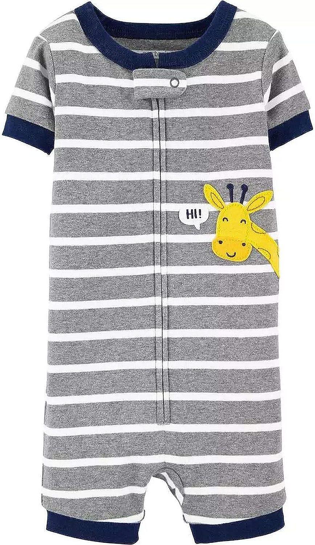 Toddler Boys Husky Sled Dog Striped Fleece Footed Pajama Sleeper