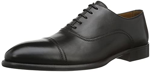 Lottusse L6553-01109-01 - Mocasines para hombre, color Negro (LonDark Old