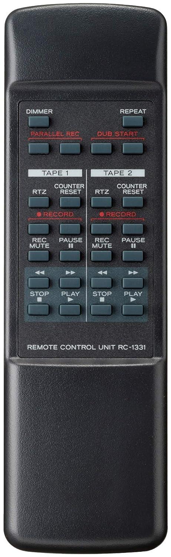 Registratore a cassette Teac W 1200 - Telecomando