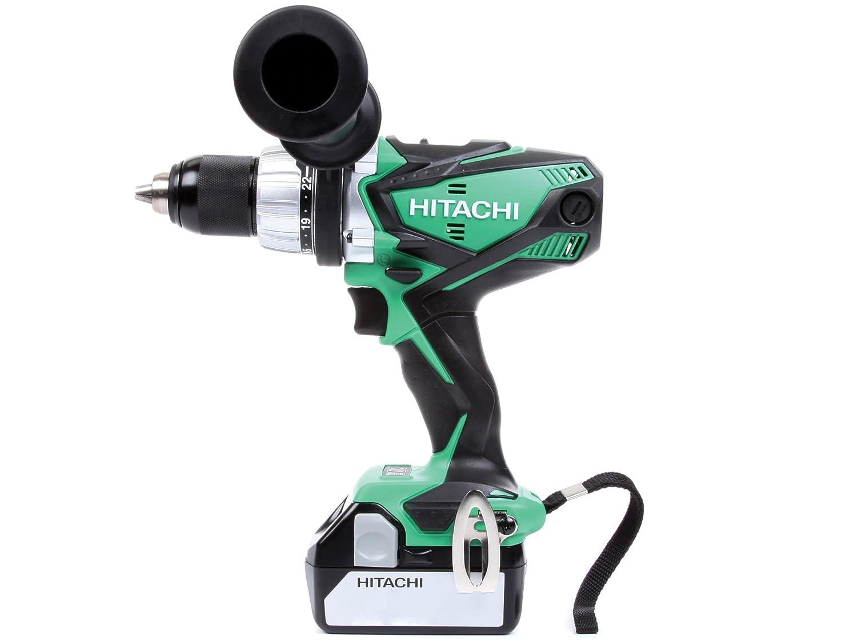 hitachi drill set. hitachi dv18dsdl/jj 18v cordless li-ion combi drill with 2 x 5ah battery: amazon.co.uk: diy \u0026 tools set m