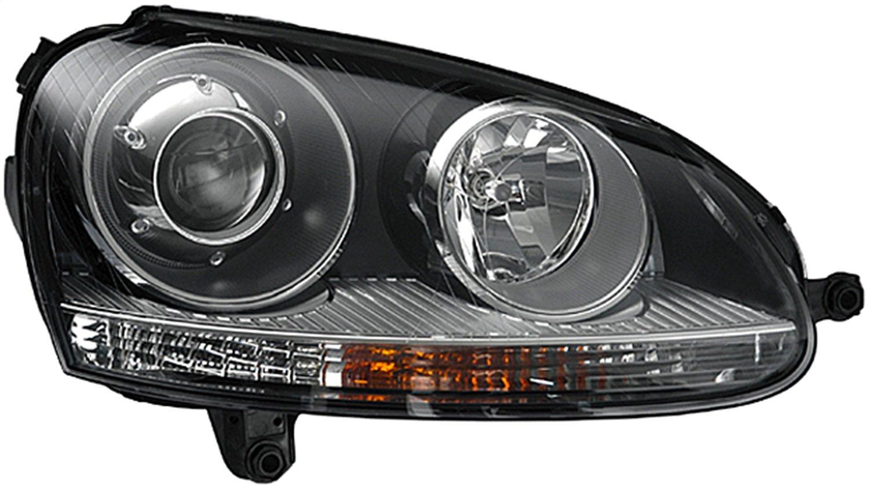 HELLA 010168021 Golf/Rabbit//R32/GTI MkV Passenger Side Headlight