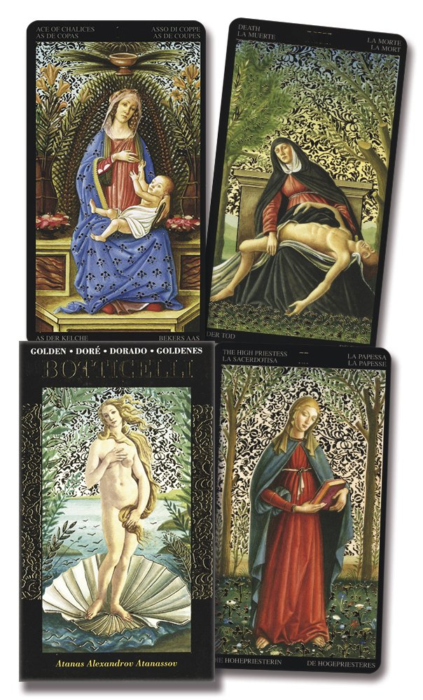 Golden Botticelli Tarot: Amazon.es: Lo Scarabeo: Libros