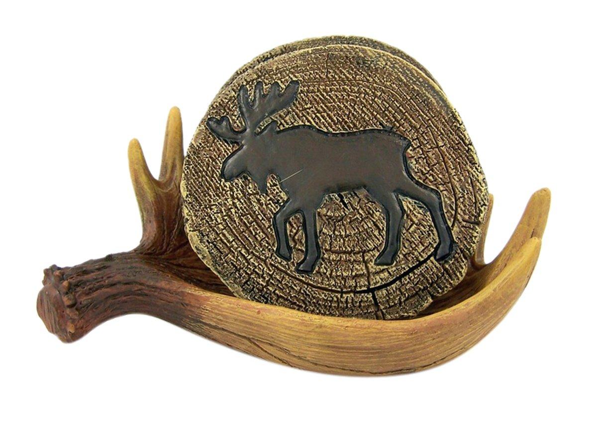 LL Home Moose Coasters