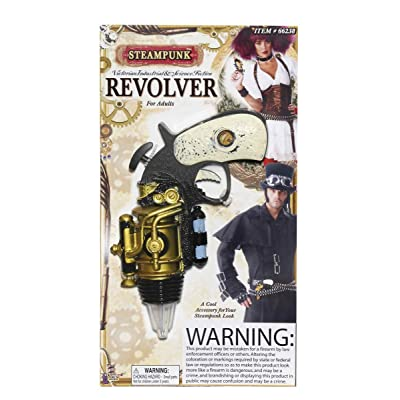 Forum Novelties Steampunk Revolver Theater Prop Toy: Toys & Games