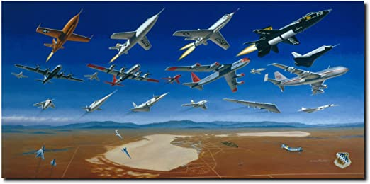 X-Planes at Edwards AFB Golden Age of Fight Test by Mike Machat 1947-1977