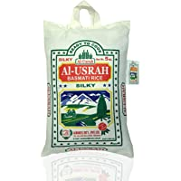AL USRAH Basmati Rice Pakistan, 5 kg (Pack of 1)