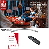 LG 55SJ8500-55-inch Super UHD 4K HDR Smart LED TV (2017 Model) w/6 Months of Netflix + 1 Year Extended Warranty