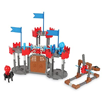 Learning Resources Engineering & Design Castle Set, STEM, Critical Thinking, Problem Solving, and Early Engineering Skills Toy, 123 Pieces, Ages 5+: Toys & Games
