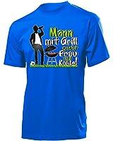 Frau mit Grill sucht Mann mit Kohle T-Shirt