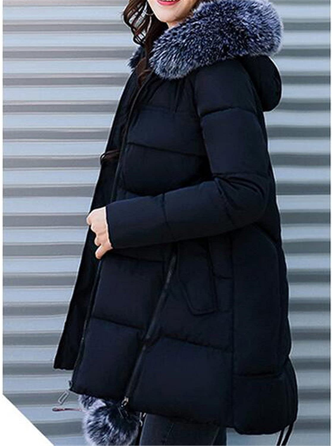 474d543f6fd Amazon.com  Cheryl Bull Trendy Long Cotton Jacket Women Coat Winter Thick  Coats Female Outerwear Women Parka Plus Size 3XL Coats  Clothing