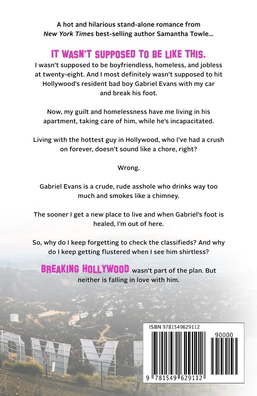 Breaking Hollywood: Samantha Towle: 9781549629112: Amazon