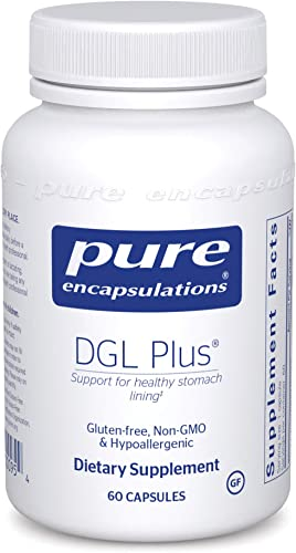 Pure Encapsulations – DGL Plus – Herbal Support for The Gastrointestinal Tract – 60 Capsules