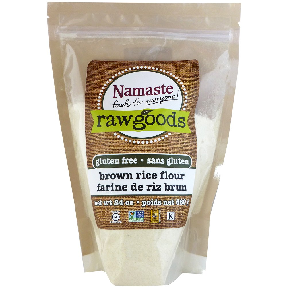 Namaste Foods Brown Rice Flour, 24 Ounce (Pack of 6)