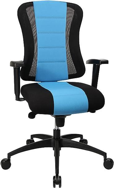 Topstar Soft Point Syncro Bürostuhl, Stoff, blau schwarz, 62