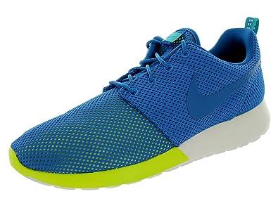 online store 0db42 1885f Nike Mens Rosherun Mltry BlMlry BlTrb GrnSmmt Running Shoe 10