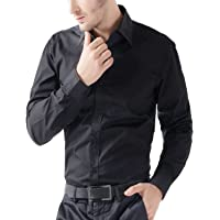 U-TURN Men's Cotton Solid Full Sleeve Shirts…