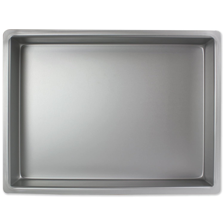 PME - Moule à Gâteau Rectangulaire en Aluminium, 177mmx 279 x 75mm de Profondeur