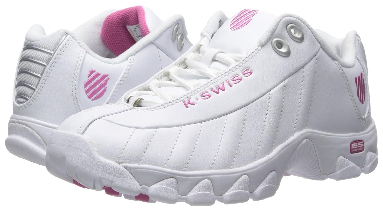 K-Swiss Shoe Women's ST329 CMF Training Shoe K-Swiss B00RBOLB92 5 B(M) US|White/Shocking Pink f1ea4e