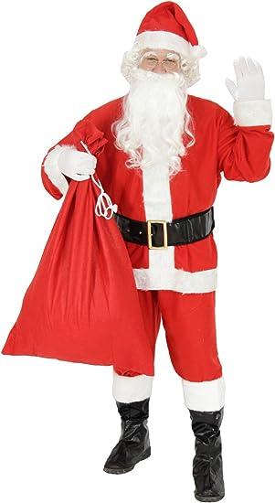 foxxeo 10026 | Disfraz Disfraz Papá Noel Papá Noel Navidad Santa ...