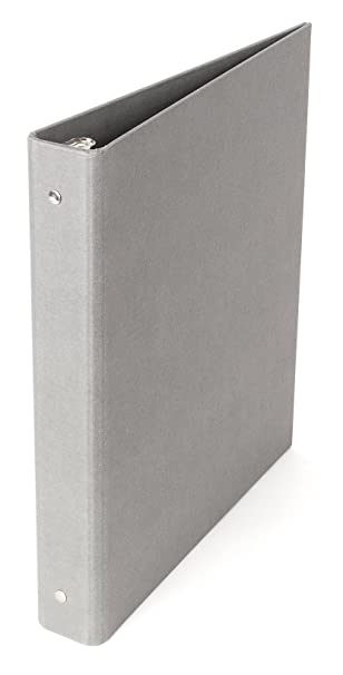 Amazon Bigso Ringo 3 Ring Binder 1 Inch Gray Home & Kitchen