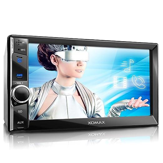 4 opinioni per XOMAX XM-2VRSU736BT Autoradio con Bluetooth vivavoce e riproduzione musicale +