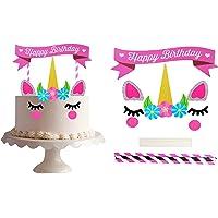 Cake Topper de Unicornio Toymio Hecho a Mano