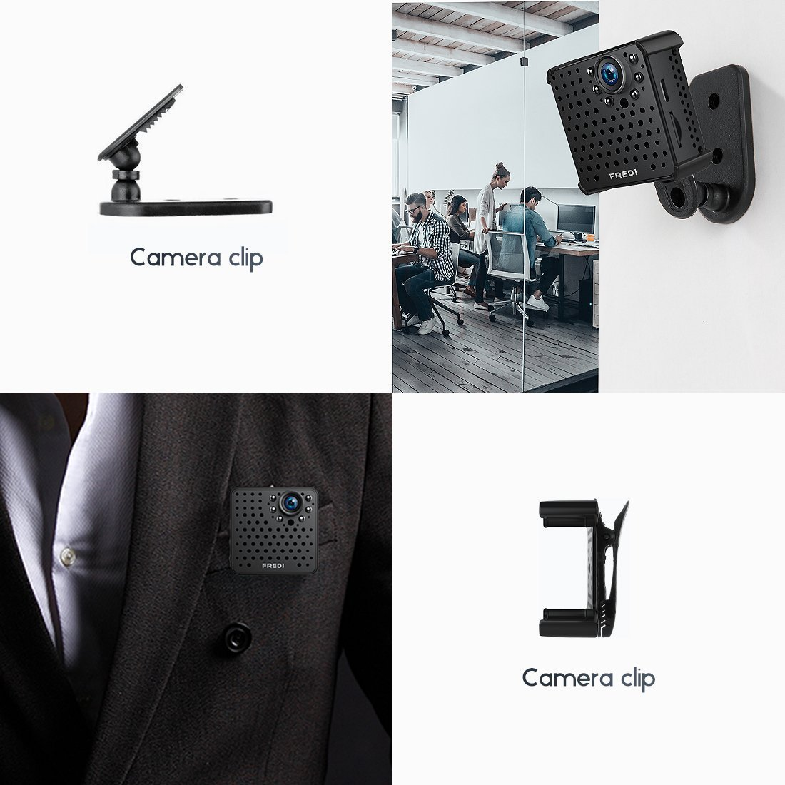 Amazon.com : Cameras Espias Wifi Inalambria Portable Vision Noche Detector Movimiento : Camera & Photo