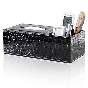 Schreibtisch Organizer Taschentuchbox Desktop Kosmetiktücherbox aus