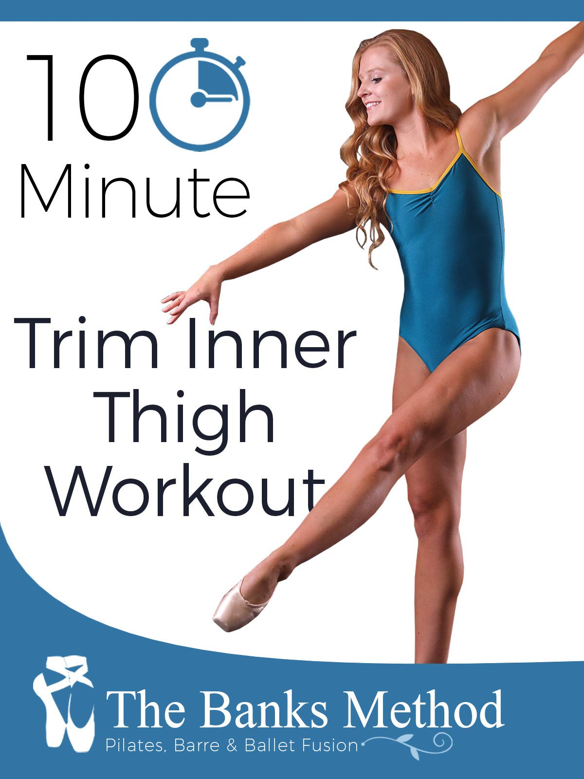 10 Minute Inner Thigh Trimming Workout   The Banks Method: Pilates, Barre, and Ballet Fusion on Amazon Prime Video UK