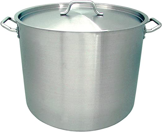 16 Qt Induction Ready Stainless Steel Stock Pot w//Cover SPS-16 Update International