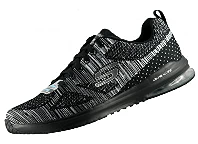 Skechers - Pantofole Uomo, Nero (Nero), 45 EU: Amazon.it ...