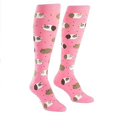 75b4ca012 Sock It To Me Womens Knee Socks - Guinea Piggin Around  Amazon.co.uk   Clothing