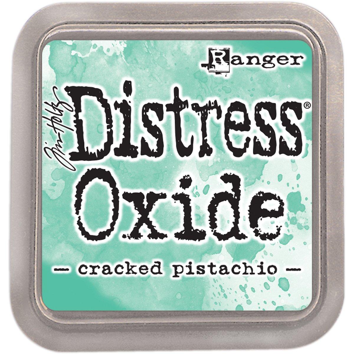 Ranger Cracked Pistachio Distress ossido di tampone di inchiostro, verde RGRTDO.55891